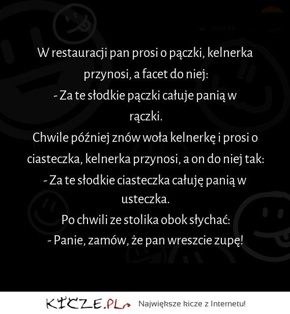 Kiczepl Hehe Gość Zamawia Pączki I Rymuje Wiersze